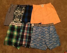 7 NWT Men's American Eagle AE Boxers, X-Small