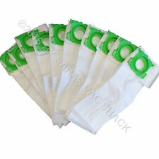 10 Synthetic Cloth Vacuum Bags for SEBO Windsor Sensor Commercial Upright Vacuum