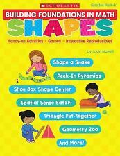 Building Foundations in Math: Shapes: Hands-on Activities * Games * Interactive