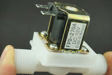 "12V DC 1/2"" Electric Air Solenoid Valve Normally Closed Water Inlet Flow Switch"