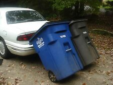 Tow or Pull Trash Cart Can Bin use Car or Truck, need No Hitch, USA mdl. A or C?