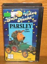 VHS Rarität Kinderfilm Parsley der Löwe Gute Nacht Video