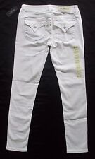 MISS ME Mid Rise White SKINNY Jeans Flap Pocket Stretchy Size 29 x 30   NWT