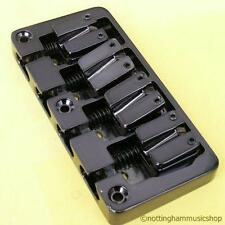 ELECTRIC BASS GUITAR Bridge Nero Pesante 4 STRINGHE NUOVO