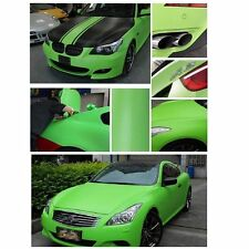 Green Carbon Fiber Vinyl Wrap Stickers Car Interior Accessorie Panel 30X127CM