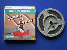 Super 8mm Cartoon  - Chilly Willy in ' Clash and  Carry '  - 200ft  B/W Silent