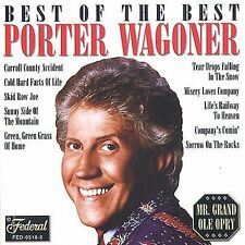 WAGONER porter/best of COUNTRY FOLK carroll co NEW CD