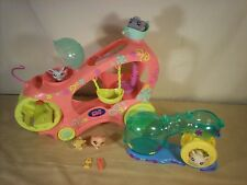 Littlest Pet Shop Paw-Powered CRUISER Car with Pets and Hamster Wheel