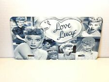 I LOVE LUCY LICENSE PLATE #02 COLLAGE DESIGN