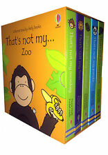 Thats Not My Zoo Collection Usborne Touchy-Feely 5 Books Box Set Monkey, Lion