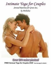 NEW Intimate Yoga For Couples with 270 Color Photos & Free DVD