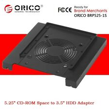 "ORICO 5.25"" CD-ROM Space to 3.5"" HDD Hard Disk Drive Converter Adapter Bracket"