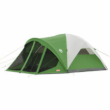 Coleman Evanston 6 Person Screened Family Camping Tent 14' x 10' 2000007825