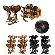 12 Pcs Women Girls Hair Accessory Styling Plastic Mini Clip Claw Clamp