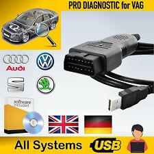 ADVANCED VAG CAR AUTO DIAGNOSTIC OBD CABLE SCANNER SOFTWARE UP TO 2013 AUDI VW
