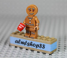 LEGO Series 11 - Gingerbread Man 71002 Minifigure (from keychain) XMas Coffe Mug