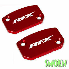RFX Brake & Clutch Master Cylinder Reservoir Caps Husqvarna TE 449 511 11-13 Red