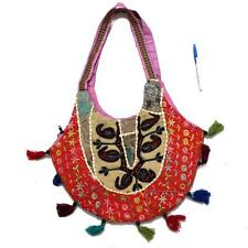 Vintage Triabal Banjara Indian Handmade Ethnic Multi Color Patchwork Bag