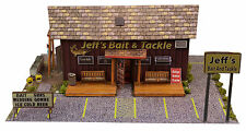 BK 4315 1:43 Scale Bait Shop Photo Real Building Kit Innovative Hobby Supply