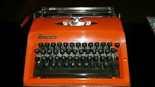 Vintage Adler Contessa De-Luxe portable typewriter in carry case