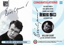 The Avengers 50th Anniversary William Gaunt AVWG Variant Auto Card