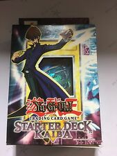 YUGIOH FACTORY SEALED  YUGI + KAIBA STARTER DECKS ENGLISH