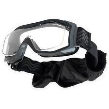 Bolle Tactical X1000 RX Ballistic Prescription Airsoft Goggles Black Clear Lens