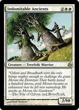 INDOMITABLE ANCIENTS Morningtide MTG White Creature — Treefolk Warrior RARE