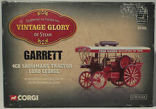STEAM ENGINES : 4CD SHOWMAN'S TRACTOR LORD GEORGE MADE BY CORGI IN 2001