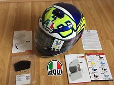 AGV K3 SV ROSSI 46 WINTER TEST 2012  MOTORCYCLE HELMET - BLUE : XL