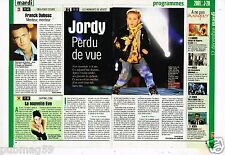 Coupure de Presse Clipping 2000 Jordy