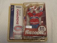 McFarlane NHL Series 10 Jose Theodore 2 Variant Red Jersey Figure