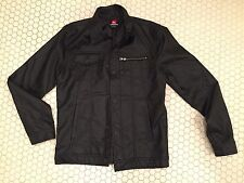 Quiksilver Faux Leather Jacket - Black - Size M - MSRP $120! - Brand New