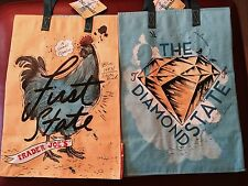 1 First State - Delaware Trader Joe's BAG reusable Shopping grocery ECO bag NWT