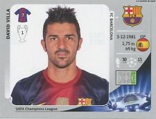N°459 DAVID VILLA # ESPANA FC.BARCELONA STICKER PANINI CHAMPIONS LEAGUE 2013
