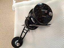 Maxel Ocean Max Right Hand HY25-BG Black Gun Metal Color Hybrid Fishing Reel