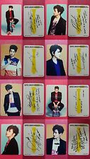 LOT of 8 SUPER JUNIOR - M [SWING] Official Photocard 3rd Album Full Set