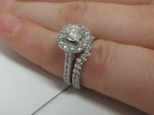 1.50 CTW NEIL LANE DIAMOND ENGAGEMENT RING SET KAY JEWELERS PAID UP GUARANTEE