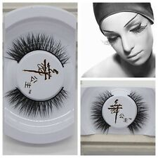 Black Luxurious 100% Real Mink Long Natural Thick Eye Lashes False Eyelashes