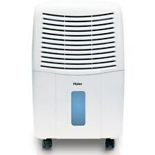 Haier DE45EM Energy Star 45 pint Dehumidifier with 2 Speed and Smart Dry Feature