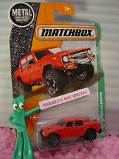 2016 Matchbox LAMBORGHINI LM002 #101☆Red☆☆MBX EXPLORERS- METAL☆ case J