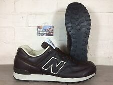Men's New Balance 576 CBB UK Size 9 Brown Leather Trainers Made in England