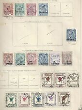 Albania/Korca stamps 1914 collection of 19 CLASSIC stamps  Cat Value $400
