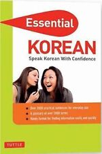 Essential Phrase Bk: Essential Korean : Speak Korean with Confidence by Gene...