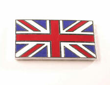 Union Jack Metal Enamel Badge Emblem Classic Car Self Adhesive