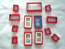 Vintage Lego Windows and Doors - Part Nos 726, 453, 604c01, 3579, 7930. (03)