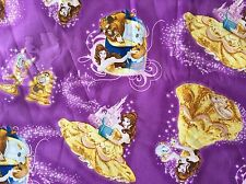 FQ DISNEY BEAUTY AND THE BEAST BELLE MRS POTTS FABRIC CHARACTER FILM