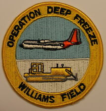 Williams Field Antarctica Operation DEEP FREEZE  Navy Patch / Seabee / CB