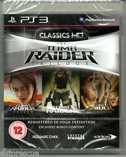 Tomb Raider Trilogy HD Legend, Underworld & Anniversary 'New & Sealed' *PS3*