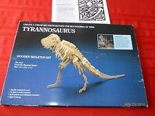 Tyrannosaurus Skeleton Kit Laminated Wood Museum Series Instructions Incl.